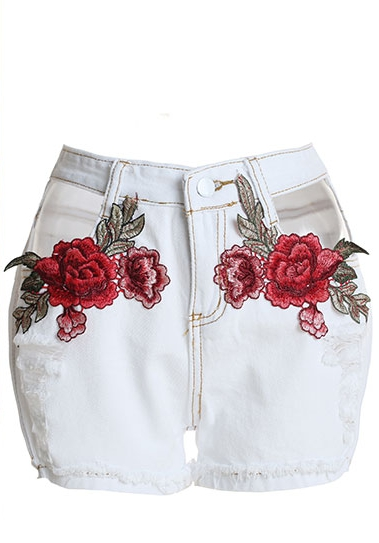 Shorts Femme Shorts Soldess Casual Blanc