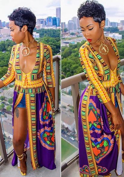 procédés de teinture minutieux volume grand ramassé Grossiste Vêtements Africains Femme Pas Cher   Vente En Gros ...